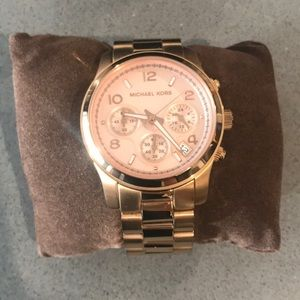 Michael Kors RoseGold Stainless Steel Watch MK5128